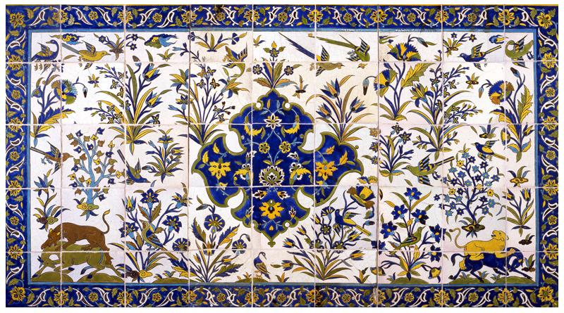 قدمت کاشی پس از اسلام