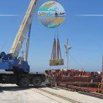 صادرات ۲۴۰۰ تن کاشی ایرانی به کشور آذربایجان از مجتمع بندری کاسپین منطقه آزاد انزلی