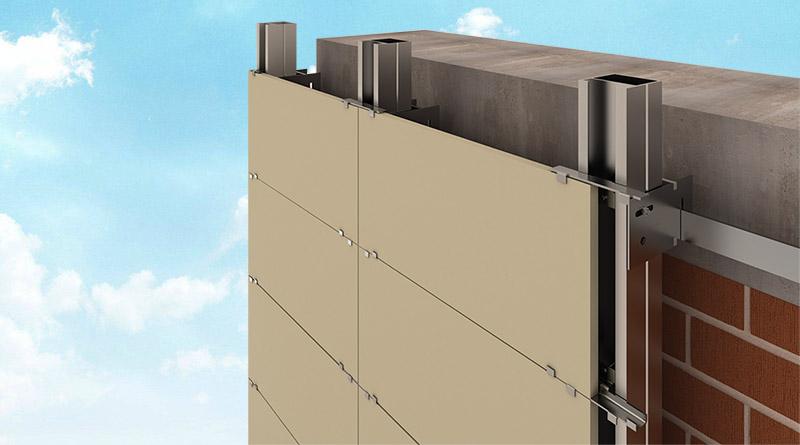 نصب سرامیک نمای ساختمان