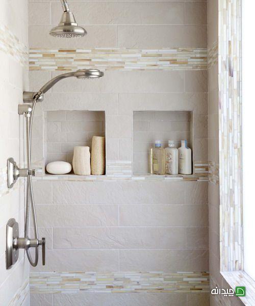 10 ترفند در طراحی داخلی حمام و سرویس بهداشتی کوچک