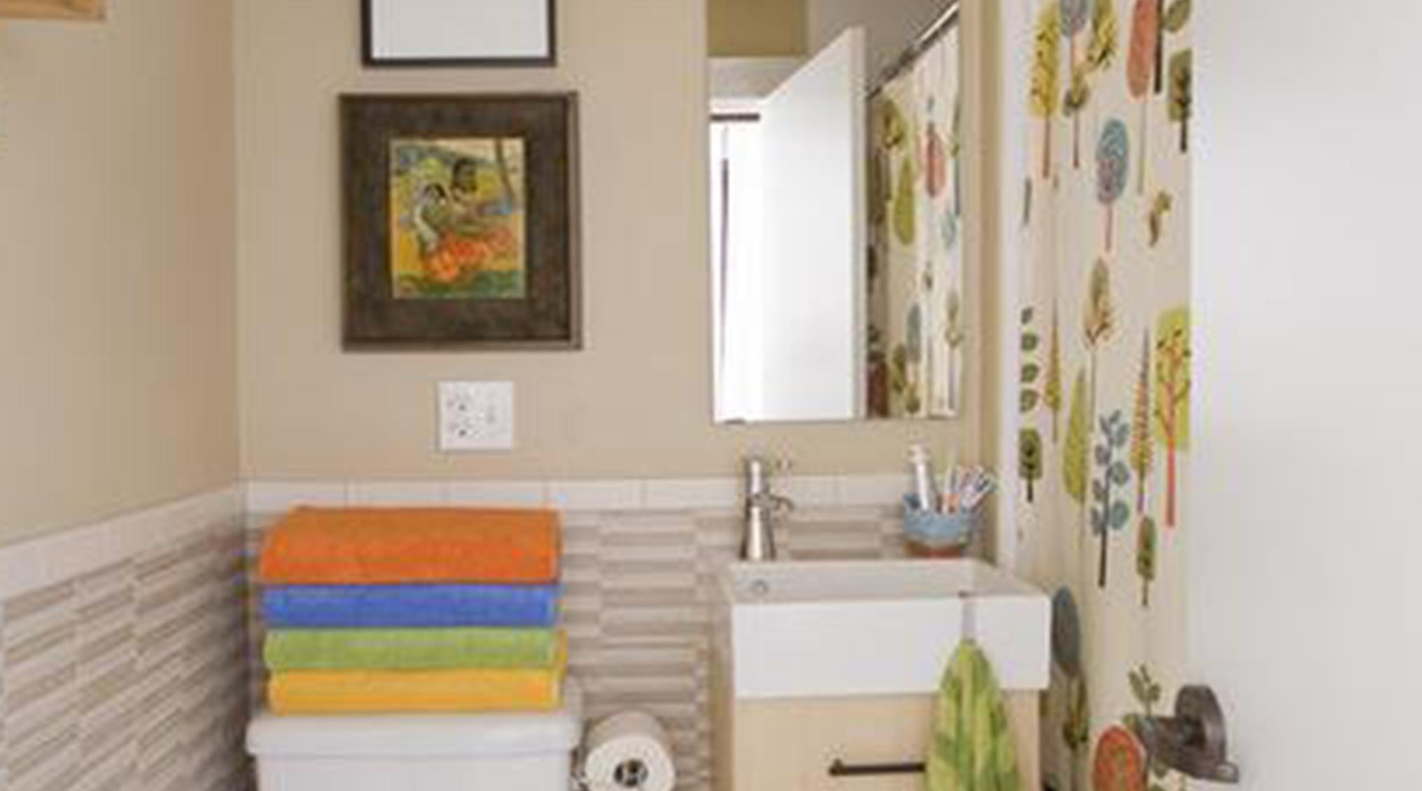 ایده های طراحی حمام و سرویس بهداشتی های کوچک
