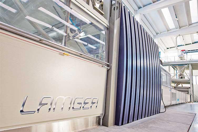 نصب دستگاه لامگا از سیستم درمارکو پولو چین