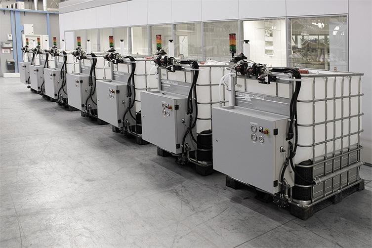 سیستم اتوماتیک تغذیه رنگ از شرکت Vibrotech