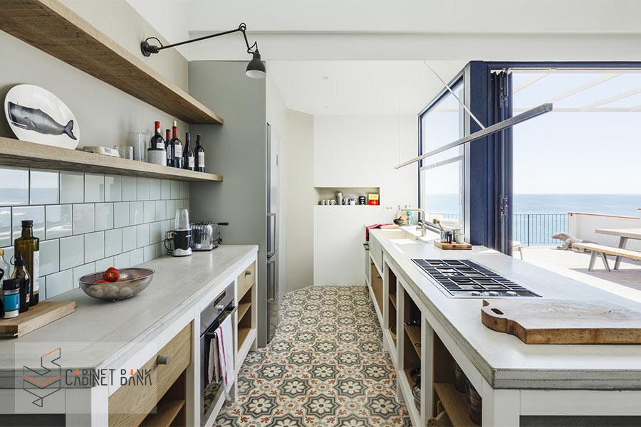 مزایا و معایب کف پوش سرامیک برای آشپزخانه و انواع آن