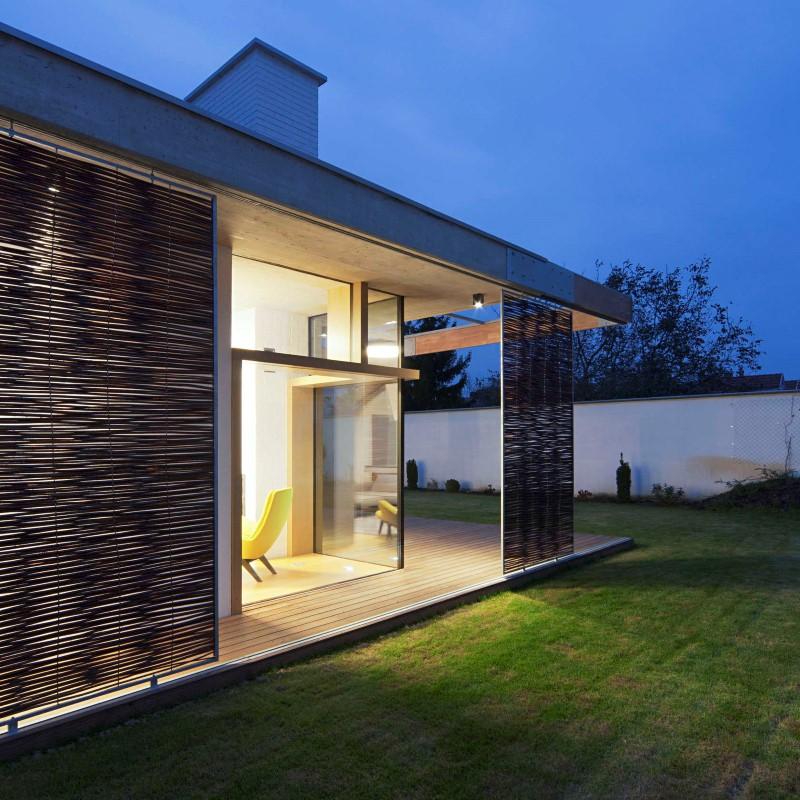 خانه تی دی ترکیبی از اصول معماری مدرن و روستایی