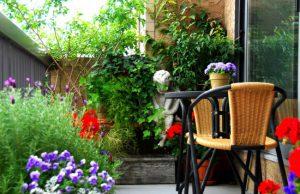 ایده برای تزئین بالکن و تراس خانه