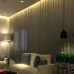 استفاده از آباژور برای زیباتر کردن محیط و نور خانه