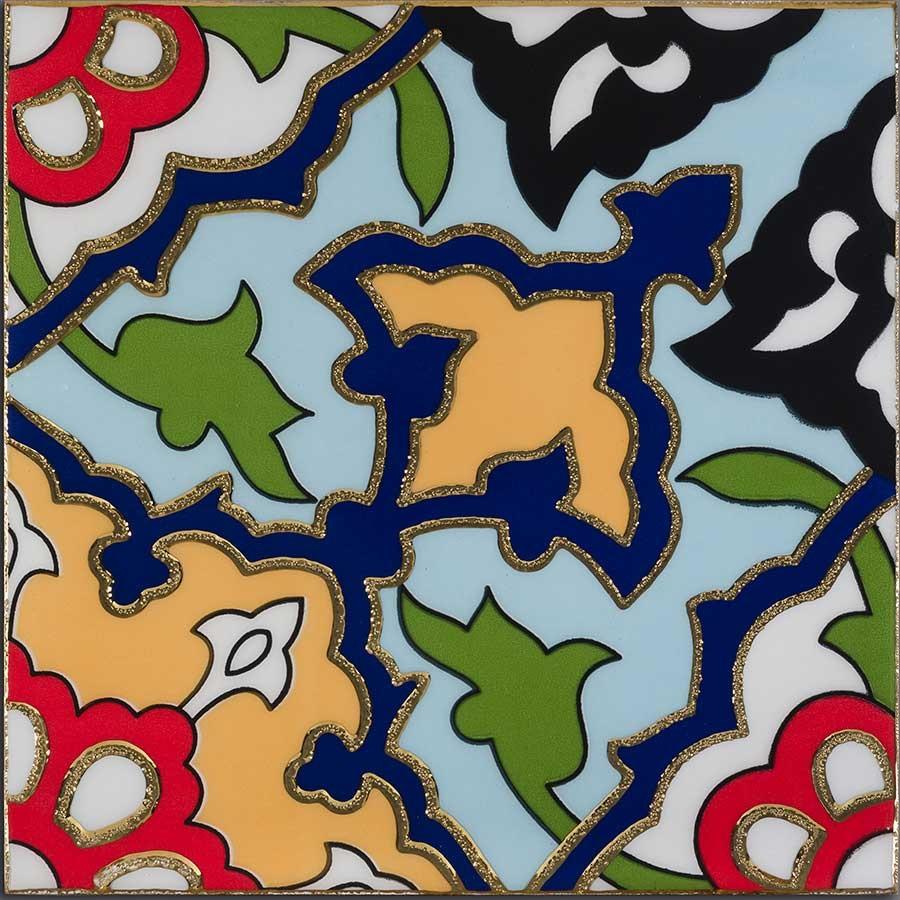 پیشینه ای بر کاشی هفت رنگ