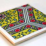 ایجاد طرح روی کاشی با کاغذاسکرپ بوک