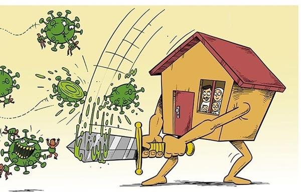 ویروس کرونا و بازسازی خانه ها