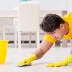 بهترین راه حل تمیز کردن کاشی کف