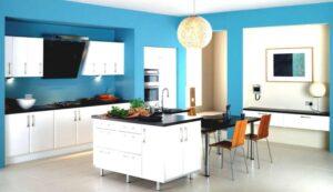 چطور از رنگ آبی در خانه خود استفاده کنیم؟