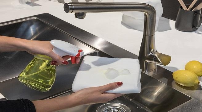 موثرترین راهکار برای تمیز کردن شیرآلات