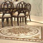 زیبایی دکوراسیون خانه با کاشی سرامیک طرح فرش
