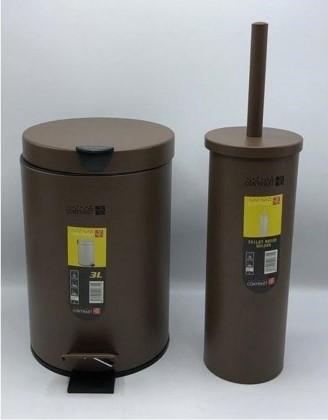 سطل و برس توالت شور