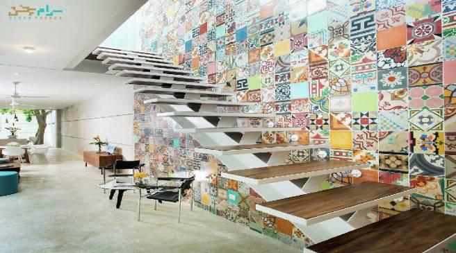 چگونه فضای داخلی ساختمان خود را طراحی کنیم؟ B+H 45