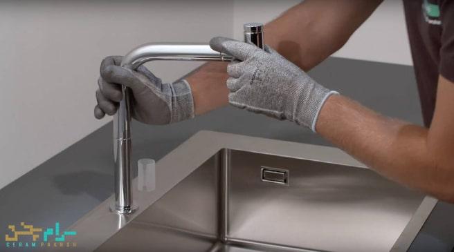 تعویض-شیر-ظرفشویی-آشپزخانه